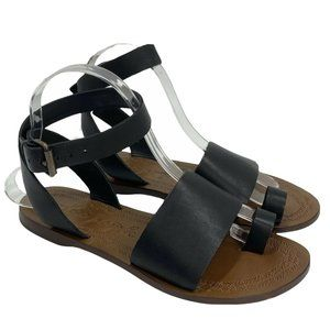 Free People Torrance Ankle Wrap Sandals 6.